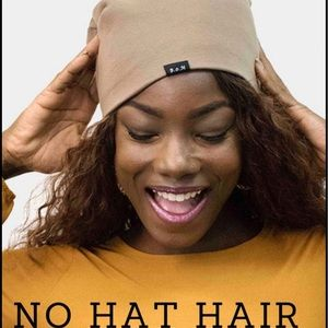 """""""No Hat Hair""""Silky Lined Beanies,avail. 5 Colors"""